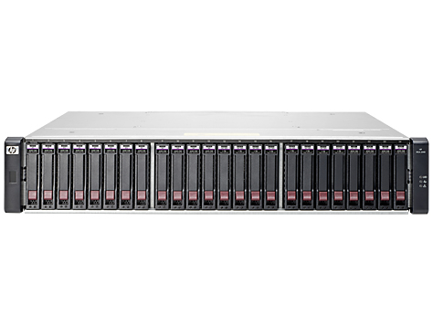 Hewlett Packard Enterprise MSA 2040 Energy Star SAN Dual Controller SFF Storage Rack (2U) disk array