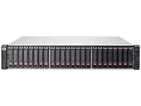 Hewlett Packard Enterprise MSA 2040 Energy Star SAN Dual Controller SFF Storage disk array Rack (2U)