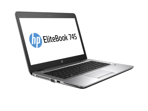 "HP EliteBook 745 G3 2.1GHz A12 PRO-8800B 14"" 2560 x 1440pixels Black,Silver Notebook"
