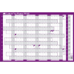 Sasco 2410139 wall planner Purple,White 2021