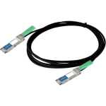 AddOn Networks QSFP+, 1m InfiniBand cable QSFP+ Black