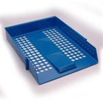 White Box WB LETTER TRAY BLUE