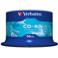 Cdr Recorder Media 700MB 80min 48x Datalife Plus 50-pk With Spindle