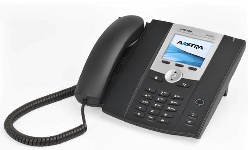 Mitel 6725ip Wired handset Black IP phone