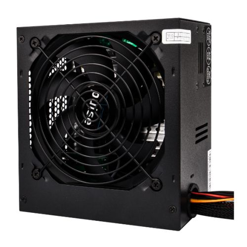 PULSE 650W PSU, ATX 12V, Active PFC, 4 x SATA, PCIe, 120mm Silent Red Fan, Black Casing