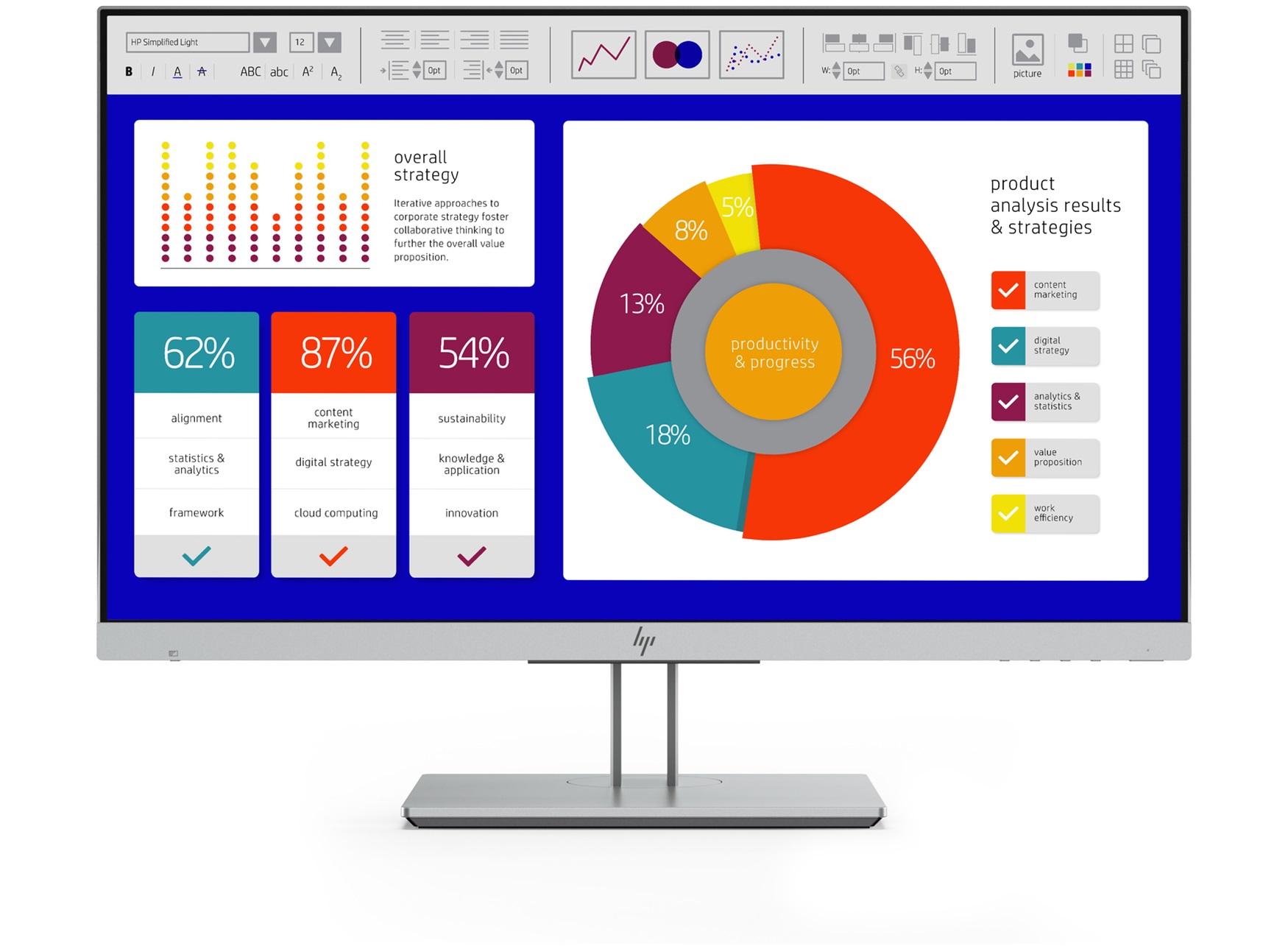"""HP EliteDisplay E243p 60,5 cm (23.8"""") 1920 x 1080 Pixeles Full HD LED Plana Negro, Plata"""