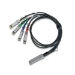 Mellanox Technologies MCP7F00-A03AR26L cable infiniBanc 3,5 m QSFP28 4x SFP28 Negro