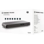 Elgato 10DAC8501 interface hub Thunderbolt 3 40000 Mbit/s Black,Grey