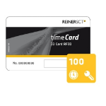Reiner SCT timeCard Chipkarten 100 (DES) Contactless smart card