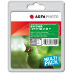 AgfaPhoto APB123SETD ink cartridge Black, Cyan, Magenta, Yellow