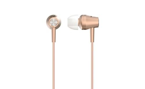 Genius HS-M360 mobile headset Binaural In-ear Gold,Metallic