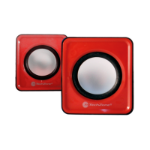 TechZone TZ15SPK-ROJO Negro, Rojo, Plata altavoz
