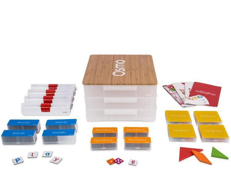 Osmo Classroom Kit - Genius Kit Edition For viPad 2/3/4, iPad Mini/2/3/4, iPad Air/Air 2, iPad 9.7""