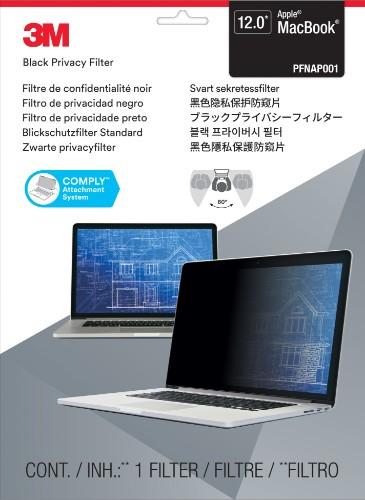 "3M PFNAP001 Frameless display privacy filter 30.5 cm (12"")"