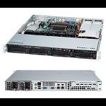Supermicro SuperChassis 813MTQ-R400CB Rack 400W Black computer case