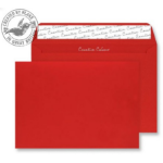 Blake Creative Colour Pillar Box Red Peel and Seal Wallet C5 162x229mm 120gsm (Pack 500)