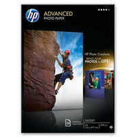 HP Q5456A photo paper Black,Blue,White Gloss A4