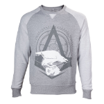 ASSASSIN'S CREED Syndicate Adult Male The Rooks Crew Neck Sweater, Extra Extra Large, Grey (SW140801ASC-2XL)
