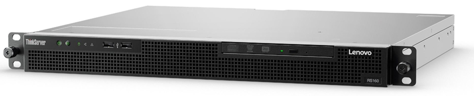 Lenovo ThinkServer RS160 3GHz Rack (1U) E3-1220 v6 Intel® Xeon® E3 v6 300W