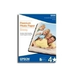 "Epson Premium Photo Paper Borderless 4 x 6"" 100 Sheets"