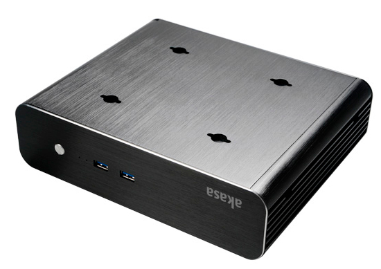 Akasa Euler S Small Form Factor (SFF) Black