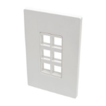 Tripp Lite N080-106 wall plate/switch cover White