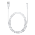 Apple Lightning - USB 2m USB A Lightning White USB cable