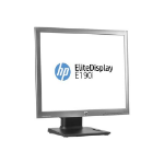 "HP EliteDisplay E190i computer monitor 48 cm (18.9"") LED Silver"