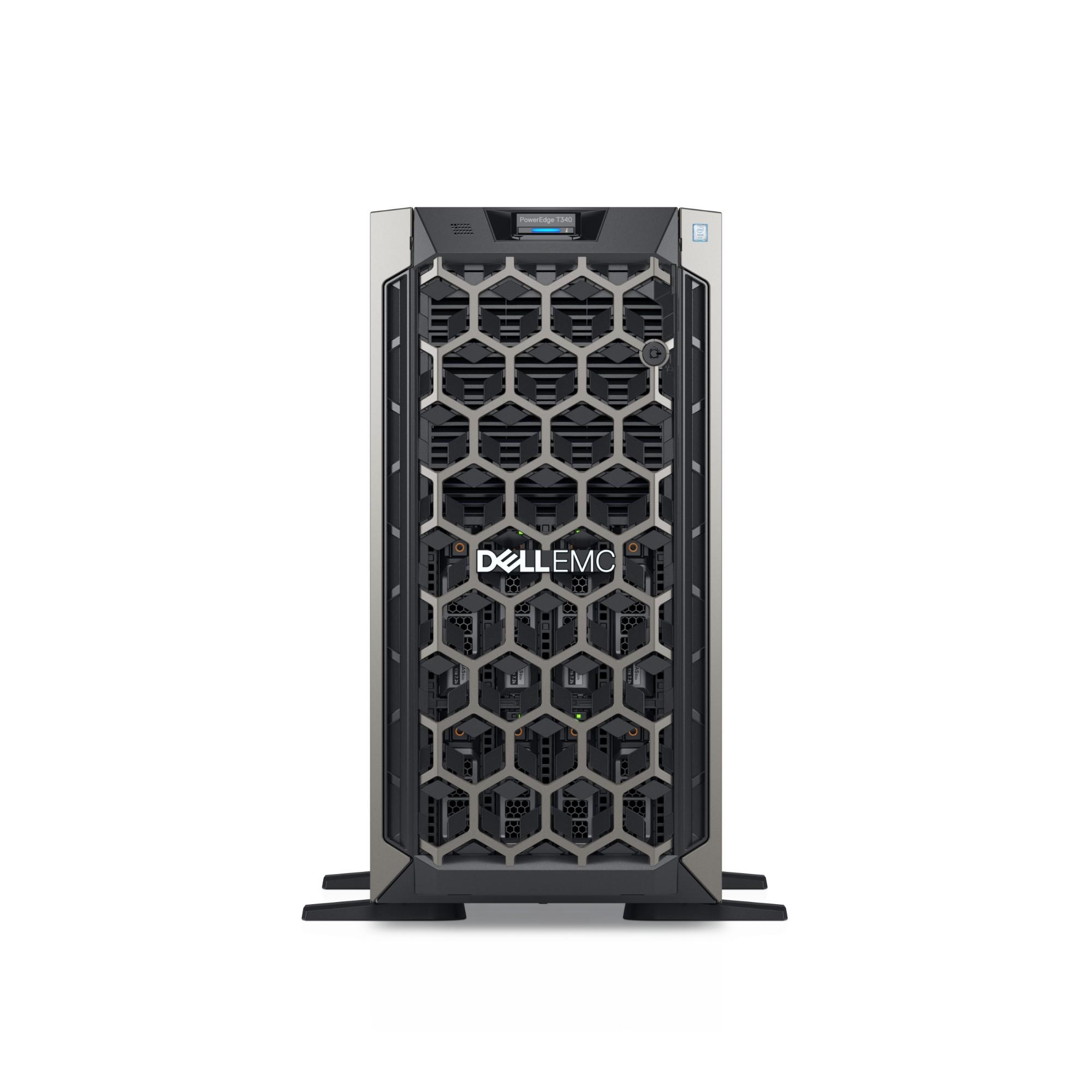 DELL PowerEdge T340 servidor Intel Xeon E 3,6 GHz 16 GB DDR4-SDRAM Tower 495 W