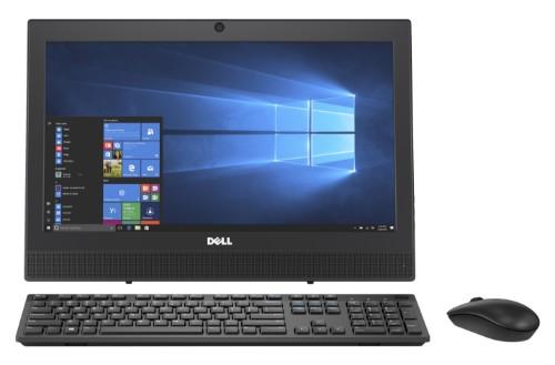 """DELL OptiPlex 3050 3.4GHz i3-7100T 7th gen Intel® Core™ i3 19.5"""" 1600 x 900pixels Black All-in-One PC"""