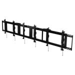 "Peerless DS-MBZ942L-3X1 signage display mount 106.7 cm (42"") Black"