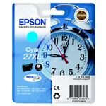 Epson C13T27124012 (27XL) Ink cartridge cyan, 1.1K pages, 10ml