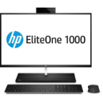 "HP EliteOne 1000 G1 68.6 cm (27"") 3840 x 2160 pixels 7th gen Intel® Core™ i5 8 GB DDR4-SDRAM 512 GB SSD Windows 10 Pro All-in-One PC Black, Silver"