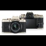 Fujifilm X T100 + XC 15-45mm F/3.5-5.6 OIS PZ MILC 24.2MP CMOS 6000 x 4000pixels Gold
