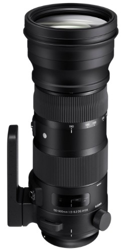 Sigma 740955 SLR Telephoto lens Black camera lense