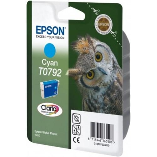 Epson C13T07924020 (T0792) Ink cartridge cyan, 11ml