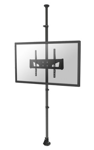 "Newstar TV/Monitor Floor to Ceiling Mount for 37""-65"" Screen, Height Adjustable - Black"
