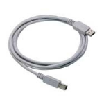 HP C6518A 2m USB A USB B Grey USB cable
