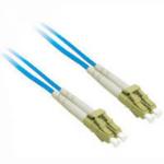 """C2G 5m LC/LC Duplex 50/125 Multimode Fiber Patch Cable fiber optic cable 196.9"""" (5 m) Blue"""