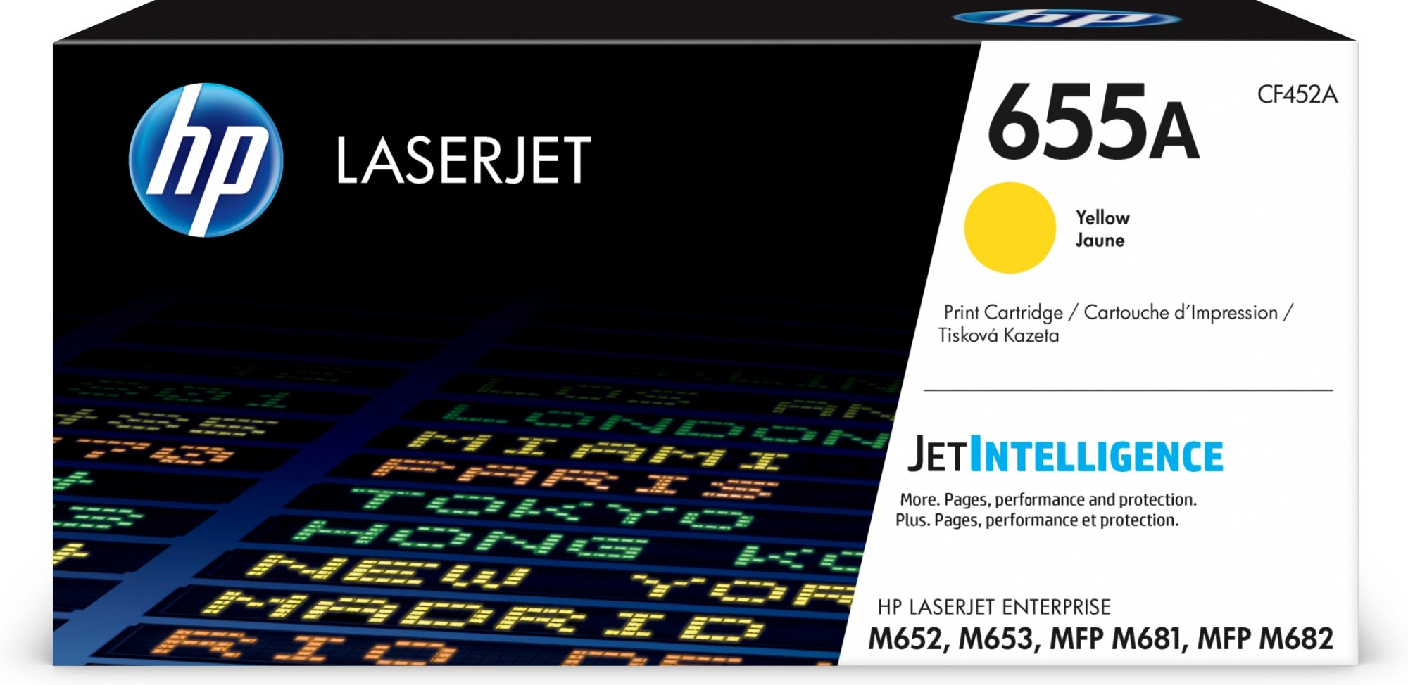 HP CF452A (655A) Toner yellow, 10.5K pages