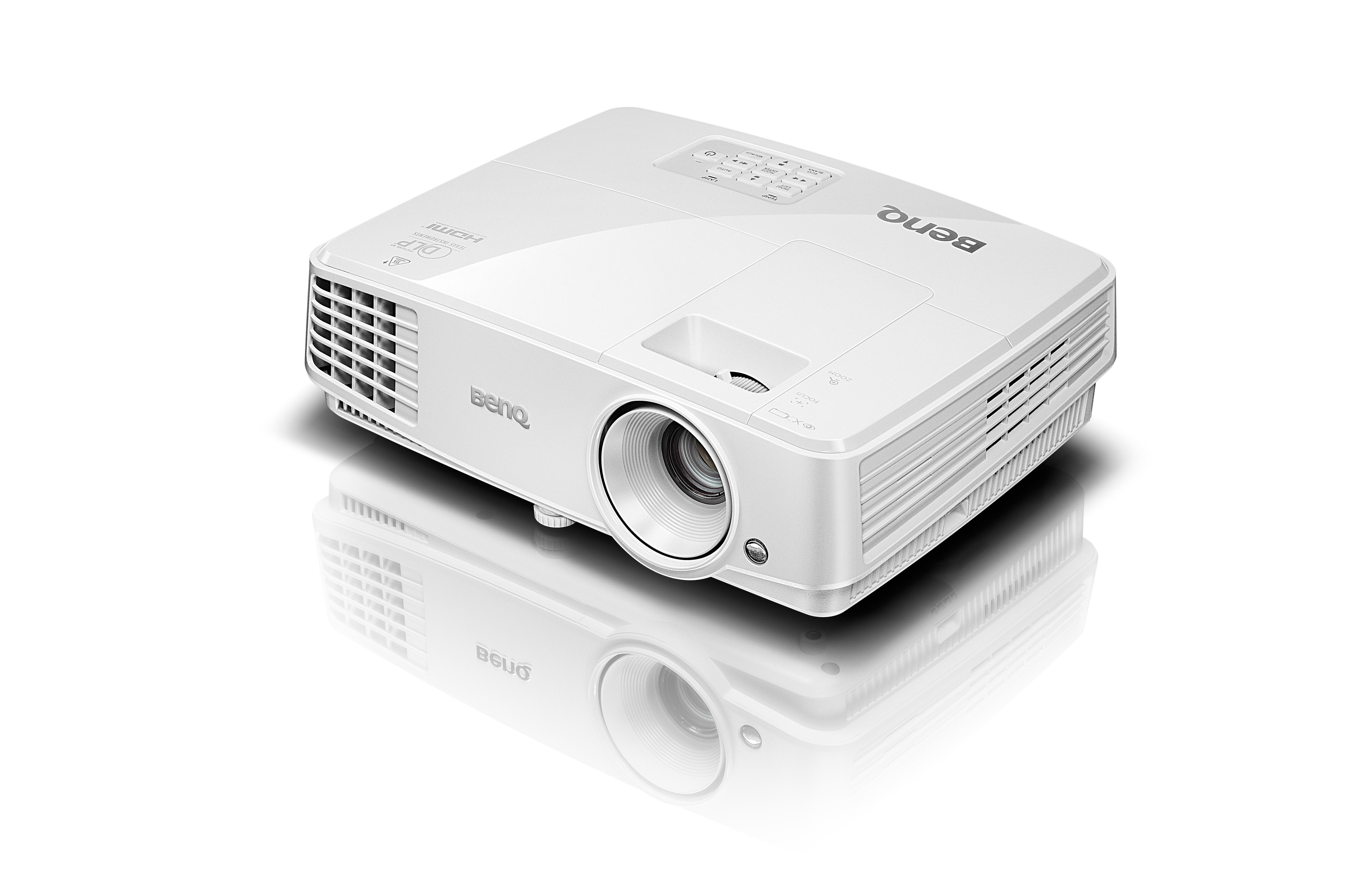 Benq TW529 projector DLP WXGA 1280x800 13000: 3300ANSI lumens DLP WXGA (1280x800) 3D Portable