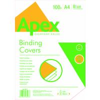 FELLOWES APEX LTHRBOARD COVER BLUEA4X100
