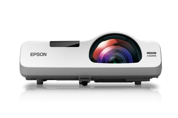Epson PowerLite 525W Desktop projector 2800ANSI lumens 3LCD WXGA (1280x800) White data projector