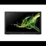 """Acer PM161Q computer monitor 39.6 cm (15.6"""") 1920 x 1080 pixels Full HD LED Flat Black"""