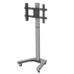 "PMV PMVTROLLEY flat panel floorstand 139.7 cm (55"") Portable flat panel floor stand Grey"