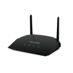 Netgear R6260 wireless router Dual-band (2.4 GHz / 5 GHz) Gigabit Ethernet Black
