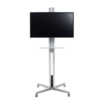 "SMS Smart Media Solutions XM031001-P0 55"" White flat panel floorstand"