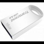 Transcend JetFlash TS16GJF710S 16GB USB 3.0 (3.1 Gen 1) USB Type-A connector Metallic USB flash drive