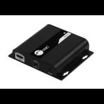 Siig CE-H25E11-S1 AV extender AV receiver Black