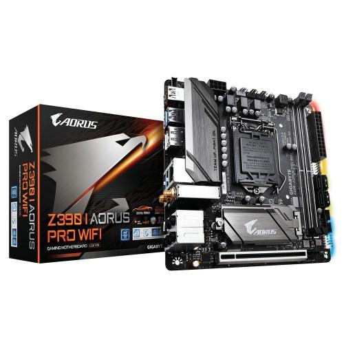Gigabyte Z390 I AORUS PRO WIFI motherboard LGA 1151 (Socket H4) Mini ITX Intel Z390